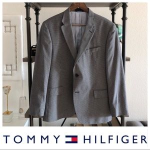 Tommy Hilfiger Gray Blazer (Men's Suit Jacket)